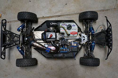 Losi 5ive T - Purchase and Tear Down