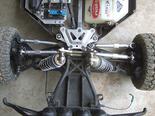 Losi 5ive T - Custom Upgrade - Custom HD aluminum camber link and turnbuckles