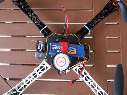 DJI F450 Flame Wheel Multirotor - The Build