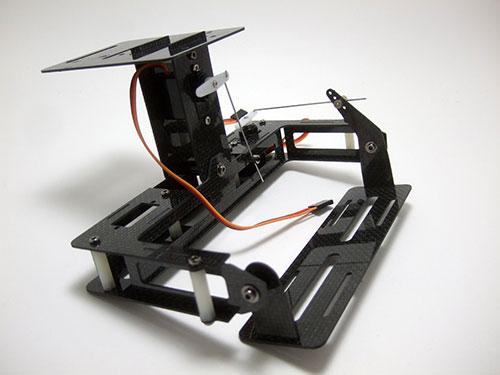 DJI F450 Flame Wheel Multirotor - 2-Axis Carbon Fiber Camera Gimbal
