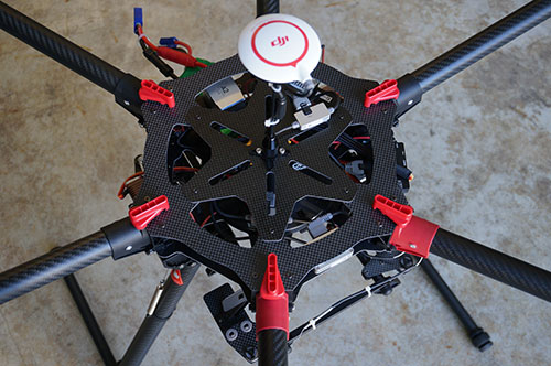 DJI Spreading Wings S900 Hexacopter A2 Sony NEX 7 Brushless Gimbal