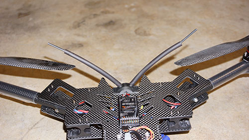 HJ-H4 Reptile Quadcopter - The Build Part 1 - Naza M v2