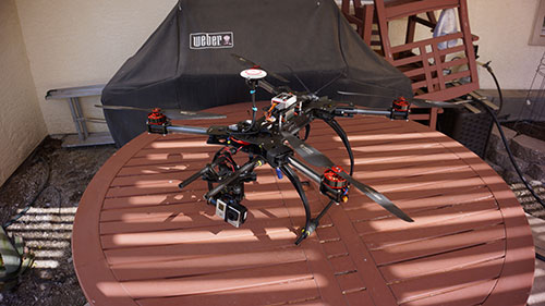 HJ-H4 Reptile Quadcopter - The Build Part 2 - Wookong M