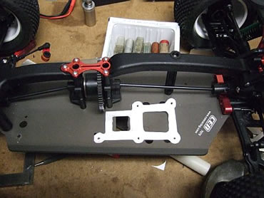CEN Matrix TR Arena - Factory Race Edition motor mount prototype