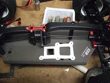 CEN Matrix TR Arena - Factory Race Edition motor mount prototype