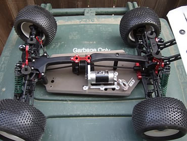 CEN Matrix TR Arena - Factory Race Edition with a cutom brushless motor mount