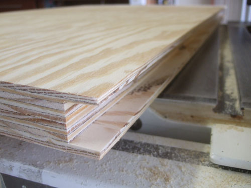 Here You Can See The Two Halves Of The Plywood Table Top With The Dado  Edge. In The Dado I Will Attach A Strip Of Hardwood To Give The Table Top  Some Added ...