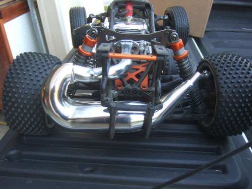 HPI Baja 5B SS - Upgrades - DDM Dominator V1 Pipe