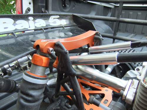 HPI Baja 5B SS - Upgrades - Turtle Racing rear shock mounts
