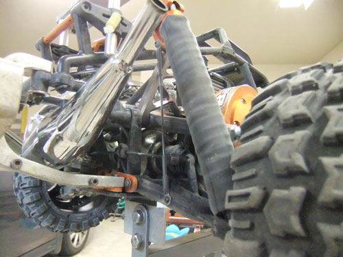 HPI Baja 5B SS - Upgrades - Killer RC Suspension Limiting Killer Kable
