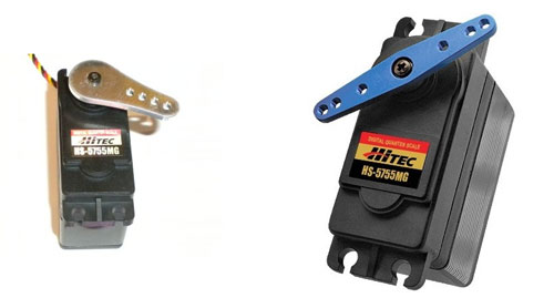 Hitec 5755MG (Rhino) Digital Steering Servo