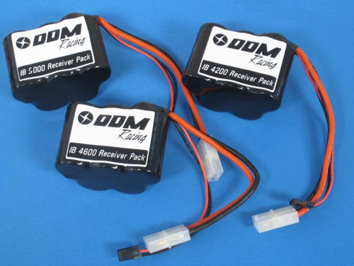 DDM 5000mah Hump RX Battery