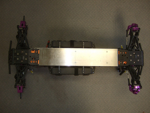 HPI Savage 5T Flux - Skid Plate Update