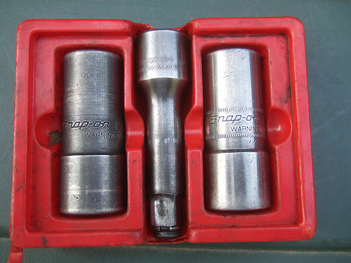 Matco Air Ratchet, IR Impact Wrench, Snap-On Sockets & Watch