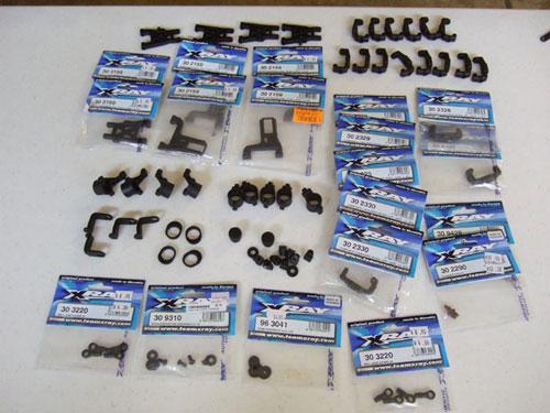 Xray FK05 Sedan Parts