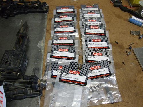Cen Matrix TR FRE Parts