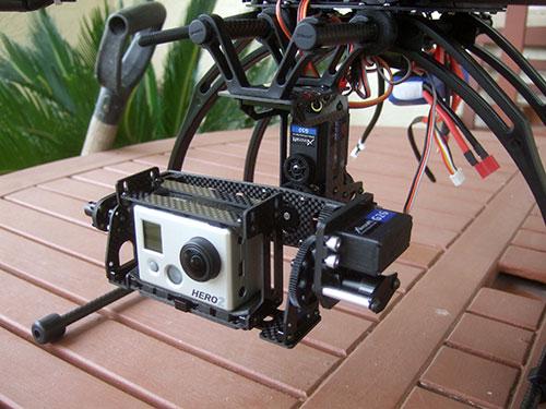 Xaircraft x650 v4 - AV (Aerial Videography) Ready
