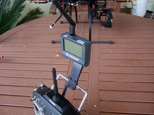 Xaircraft x650 v4 - Quanum 2.4Ghz Telemetry System v3 with Futaba 8FG