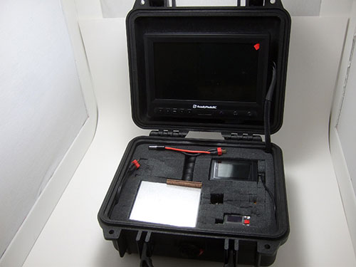Xaircraft x650 v4 - FPV Gear Installed -
