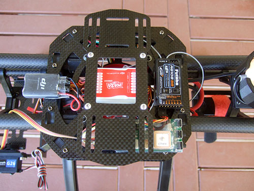 Xaircraft x650 v4 - FPV Gear Installed -