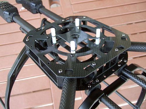 Xaircarft x650 v4 with SIGMA SS series Motor Mounts