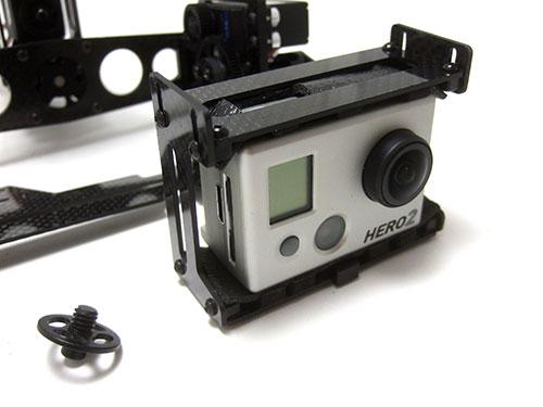 Xaircarft x650 v4 with XAircraft CMGOPRO-TP - Camera Gimbal